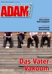 Adam online Nr. 12 Vorschau