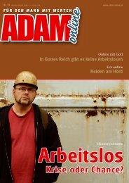 Adam online Nr. 15 Vorschau