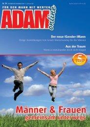 Adam online Nr. 20 Vorschau