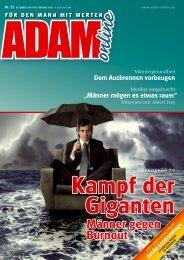 Adam online Nr. 21 Vorschau