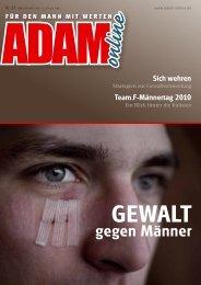 Adam online Nr. 22 Vorschau