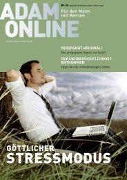 Adam online Nr. 24 Vorschau