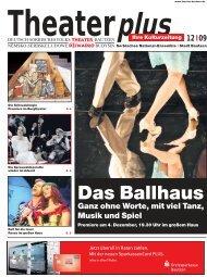 Theaterzeitung Dez. - Deutsch-sorbisches Volkstheater