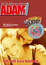 Adam online Nr. 05