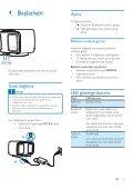 Philips Enceinte sans fil - Mode d'emploi - TUR - Page 7