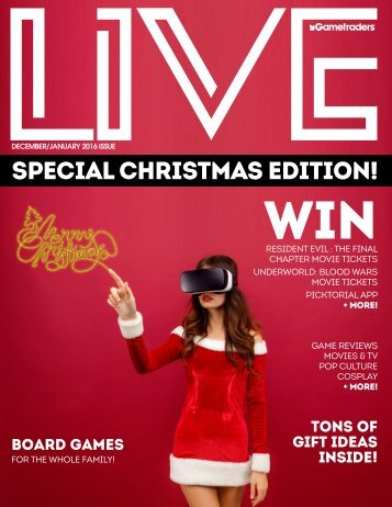 Live Magazine Christmas 2016 Edition