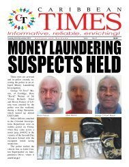 Caribbean Times 41st Issue - Tuesday 22nd November 2016