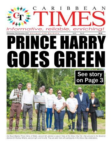 Caribbean Times 42nd Issue - 23rd November 2016