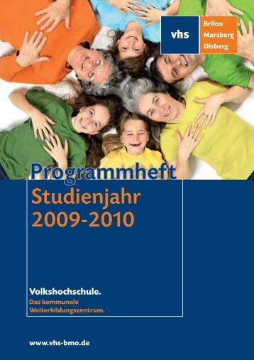 Programmheft - VHS BMO