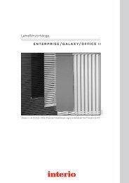 ENTERPRISE/GALAXY/OFFICE II Lamellenvorh