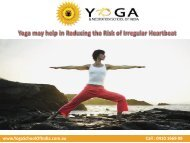 Yoga may help in Reducing the Risk of Irregular Heartbeat