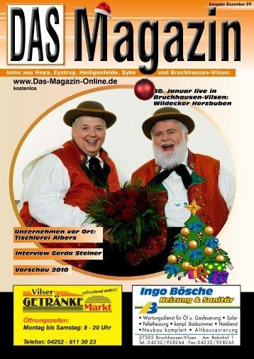 Ausgabe Dezember 2009 - Flyer- und Plakatverteilung