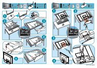 Philips Téléviseur écran plat numérique à écran large - Guide de mise en route - DEU