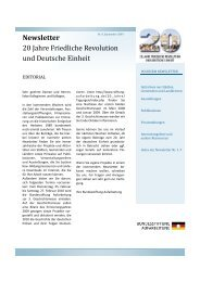 Newsletter - Bundesstiftung zur Aufarbeitung der SED-Diktatur