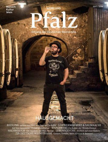 Urlaubsmagazin Deutsche Weinstrasse 2017/2018