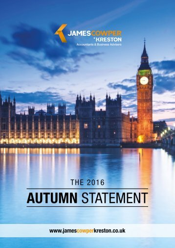AUTUMN STATEMENT