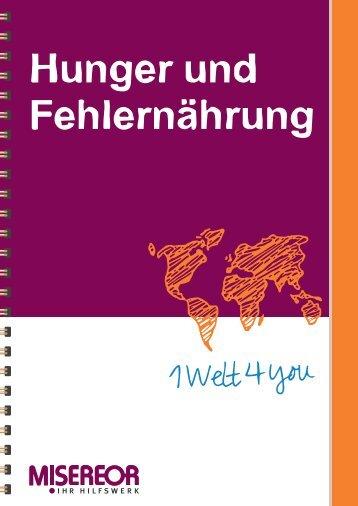 Hunger und Fehlernährung