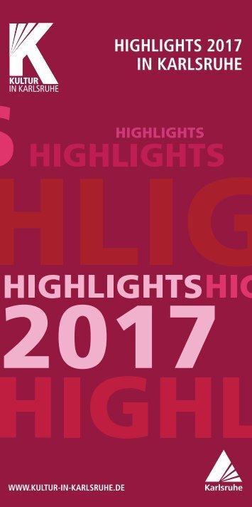 Highlights 2017 in Karlsruhe