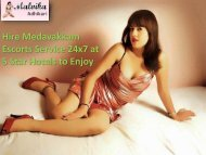 Independent Selaiyur Escorts Services by Malvika Adhikari