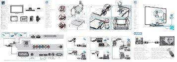 Philips TV LCD - Guide de mise en route - ENG