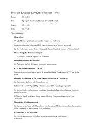 Protokoll des ordentlichen Kreistags am 11.05.10 in