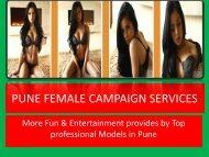 Hot Female Escorts Campaign- Ishita Tiwari