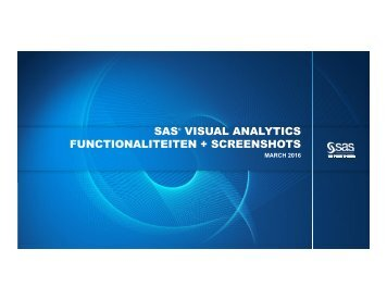 SAS Visual Analytics overzicht + screenshots (1)