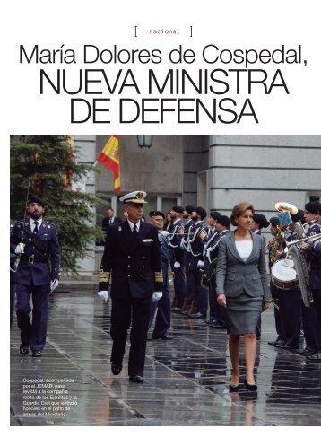 nueva ministra de Defensa