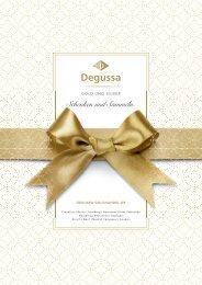 Degussa Goldhandel Weihnachtsbeileger 2016