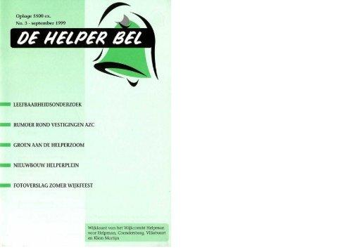Helperbel 1999, nummer 3