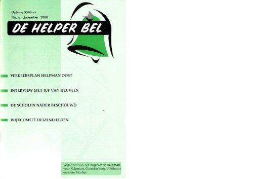 Helperbel 2000, nummer 4