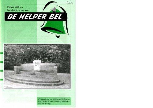 Helperbel 2001, nummer 2