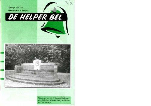 Helperbel 2001, nummer 3