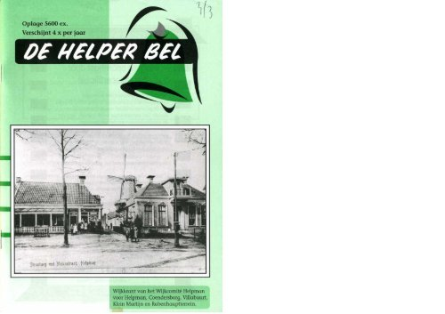 Helperbel 2003, nummer 3