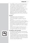 Philips Multigroom series 5000 Kit de soins étanche VISAGE, CHEVEUX - Mode d'emploi - ZHT - Page 5