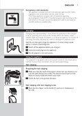 Philips Multigroom series 5000 Kit de soins étanche VISAGE, CHEVEUX - Mode d'emploi - KAZ - Page 7