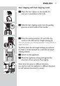 Philips Multigroom series 5000 Kit de soins étanche VISAGE, CHEVEUX - Mode d'emploi - THA - Page 7