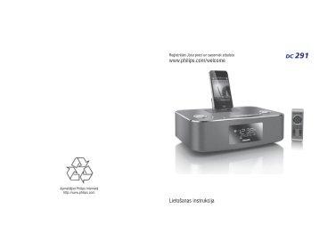 Philips Station d'accueil pour iPod/iPhone/iPad - Mode d'emploi - LAV