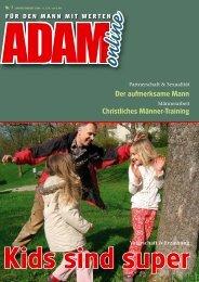 Adam online Nr. 07