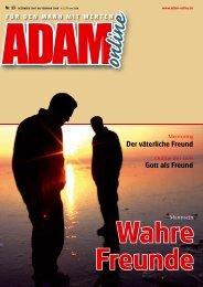 Adam online Nr. 13