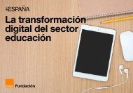 La transformación digital del sector educación