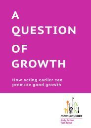 A QUESTI ON OF GROWTH