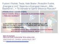 Fuzioni i ftohtë, Tesla, Valë Skalar, Rrotullim Fushë,