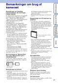Sony DSC-W350 - DSC-W350 Istruzioni per l'uso Danese - Page 3