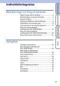 Sony DSC-W350 - DSC-W350 Istruzioni per l'uso Danese - Page 4