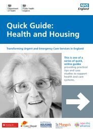 Quick Guide Health and Housing