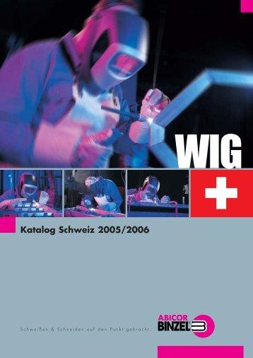 Katalog Schweiz 2005/2006