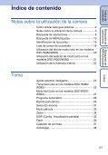 Sony DSC-W350 - DSC-W350 Guida all'uso Spagnolo - Page 5