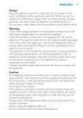 Philips SalonDry Pro Sèche-cheveux - Mode d'emploi - KOR - Page 7
