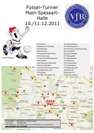 Futsal–Turnier Main-Spessart- Halle 10./11.12 ... - VfB Hafenlohr eV